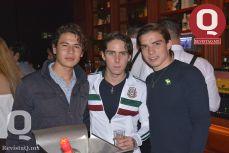 Suuda Ramírez, Jorge Canchola y Juan Pablo Miranda