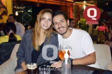 A  Lorena Maldonado y Daniel Villagrana