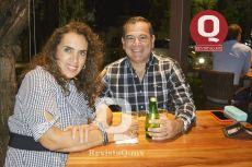 Jazmín de los Santos y Roberto González