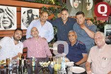 Jesús Rodríguez, Roberto Mena, Gerardo Muñoz, Raúl Mesillas, Edgar Muñoz, Emilio Reyes y Alfredo Muñoz