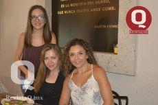 Karla Monroy, Amparo Alcalá y Janeth Segoviano
