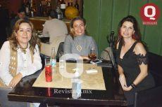 Winnie Jiménez, Jessica López y Marcela Gazca