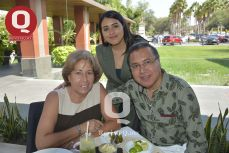 Jessica Vázquez, Jessica Mercado y Mario Vázquez.- dirección general de Grupo Argentilia