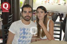 Xavier Sahagún y Vania Hernández