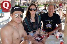 Carlos Orozco, Cecy Vega y Ernesto Vega