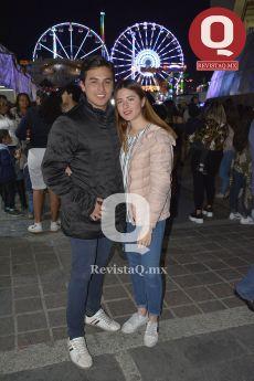 Ángel Quiroz y Lupita Ramírez