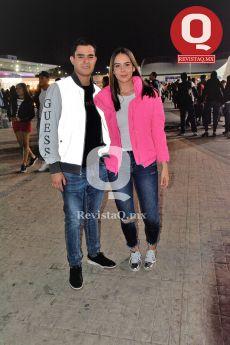 Beto Martínez y Lupita Berumen