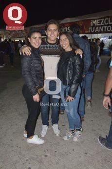 Miriam Coutiño, Carlos Coutiño y Natalia Dorantes