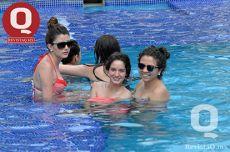 Alejandra Videgaray, Regina Videgaray y Elisa Pascalis