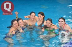 Mayela Saucedo, Dani Pinedo, Caro Pinedo, Elisa Santibañez, Lore, Thalia Aguirre  y Carola Ramos