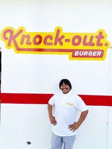 Knock-out  Burger el lugar de moda