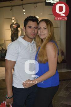 Alberto Oliva y Daniela Velázquez