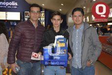 Mauricio Maldonado, Luis Alejandro López y Luis Carlos López