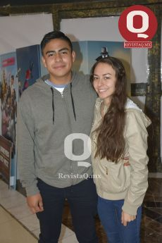 Sebastián Pacheco y Joanna Martínez