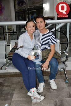 Graciela Martínez y Ricardo Rangel