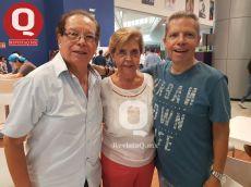 Roel Osorio, Eugenia de Osorio y Lalo Osorio