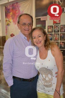 El Dr. Fernando Cortés y la Dra. Patricia Salim