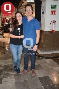 Joselyn Duarte y Emanuel Delgado