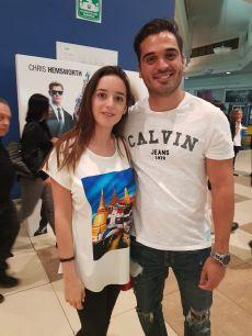 Montse Fernández y Alan Guarro ya llevan dos meses de novios