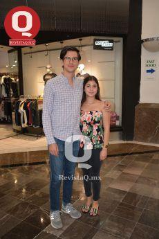 Pablo Cuéllar y Mariana Padilla