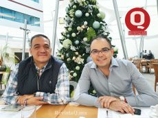 Sergio Contreras y Christopher González