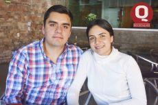 Víctor Crespo y Karina Garrido