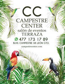 CAMPESTRE CENTER salón de eventos