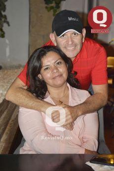 Ileana González y Ricardo Romero