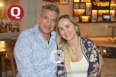 Jesús Manrique y Lorena Ascencio