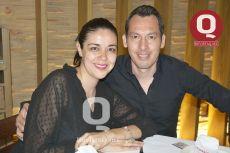 Karla Ontiveros y José Zavala