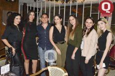 Karla Rizo, Ana Jaloma, Leonardo Garnica, Diana Méndez, Alejandra Méndez, Fernanda Garcia y Camilia Villegas
