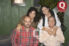 Lucía Aguilera, Jorge Aguilera, Paulina Vidaurreta y Francisco Vidaurreta