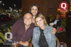 Magaly Aguado, Gerardo Rojas e Ivonne Sámano