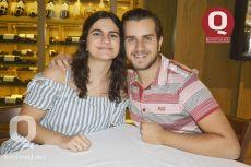 María Giacoman y Patricio Castillo