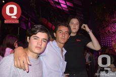 Alejandro Díaz, Roberto Jiménez y Mauricio Cano