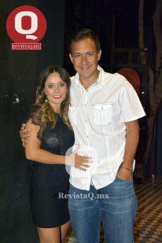 Gabriela Becerra y Alejandro Chávez