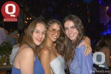 Itzel Alderete, María Zavala y Andrea Ortega