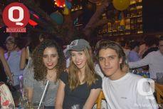 Marina Poggio, Regina Verdeja y Carlos Muñoz