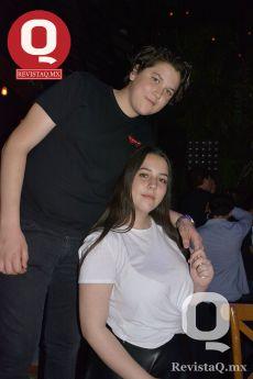 Mauricio Cano y Regina Padilla