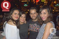 Regina Méndez, Arantza Quiroz, Héctor Barona y Sharay Vargas