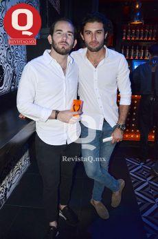 Benjamín Moreno y Rodrigo Martínez