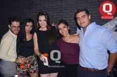 Brandon Orozco, Elena Ramos, Dulce González, Karla Ramírez y Angel Guzmán