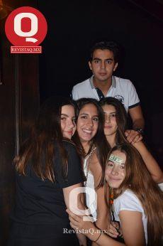 Juan Pablo Renteria, Sabrina Hernández Blanco, Luisa Sáenz y Laura Luna