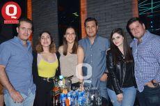 Sebastián Briones, Andrea Mendiola, Sofía Arrieta, Pablo Treviño, Matilde Garza y Fabricio James