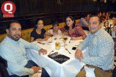 Antonio Penagos, Fabiola Lanuza, Karol López, Miriam Ulloa y Luis Castro