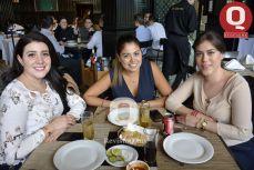 Cherezade Ikhlef, Jimena Ramírez y Zayra Luna