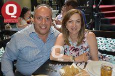 Israel Meneses y Edna Jiménez