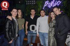 Brian Leos, Aelai Quintero, Emilio Hernández, Abraham Quintero, Greta Muñoz y Jaime Borsa