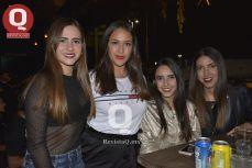 Daniela Garza, Carolina Vela, Fernanda Arce, Salma Alquicixa