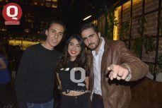 Gerardo Reynoso, Tamara Ramírez y Óscar Pérez